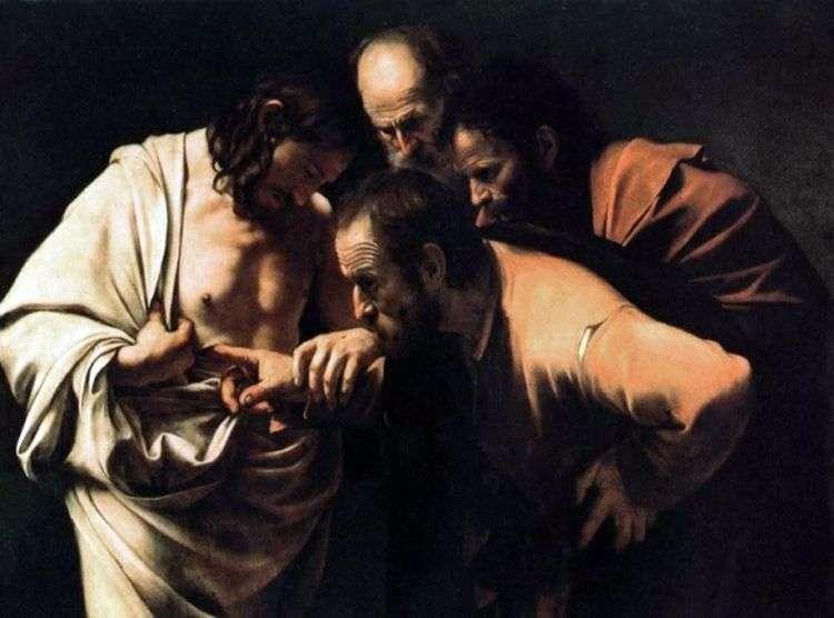 Уверение Фомы   Микеланджело Меризи да Караваджо