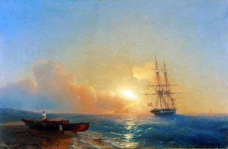 Рыбаки на берегу моря   Ивана Айвазовского