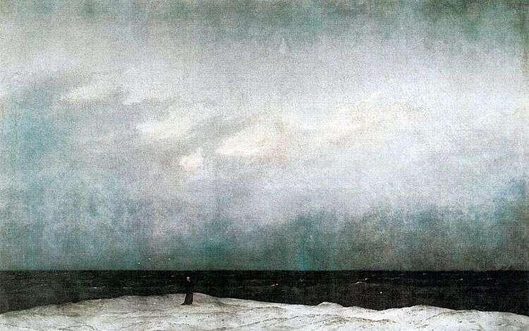 Монах у моря   Каспар Давид Фридрих