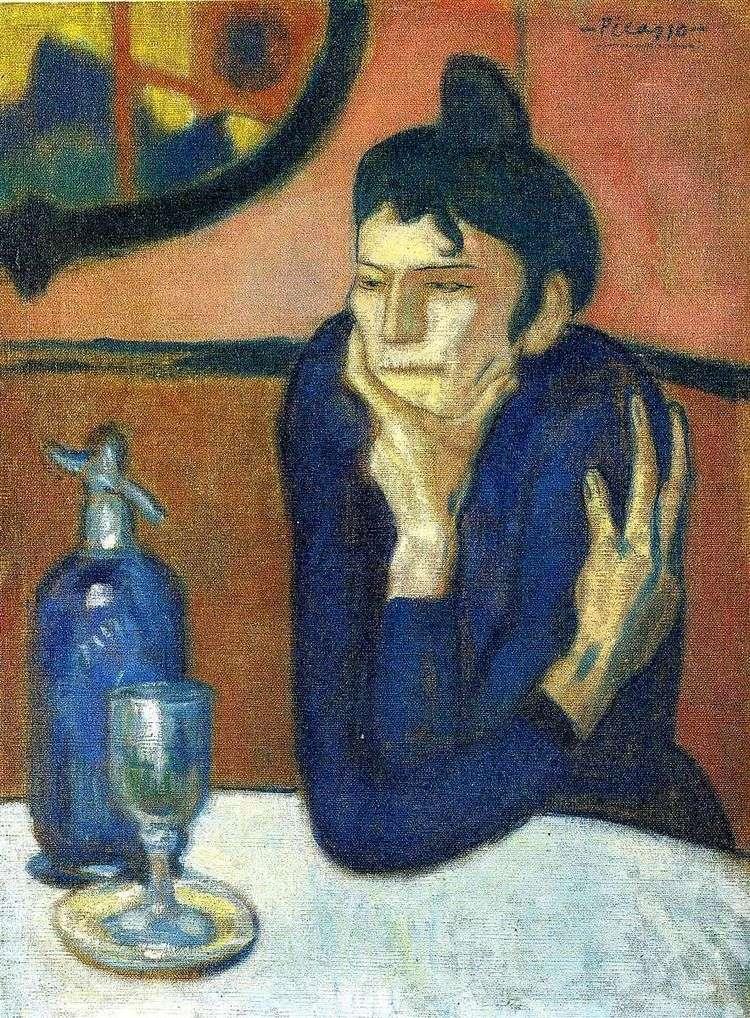 Любительница абсента   Пабло Пикассо