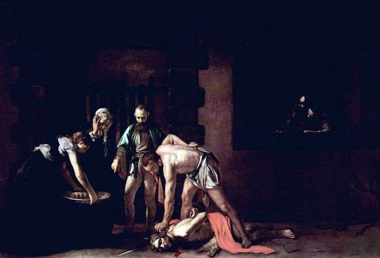 Усекновение головы Иоанна Крестителя   Микеланджело Меризи да Караваджо