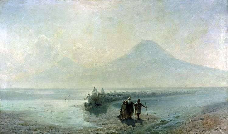 Сошествие Ноя с Арарата   Иван Айвазовский