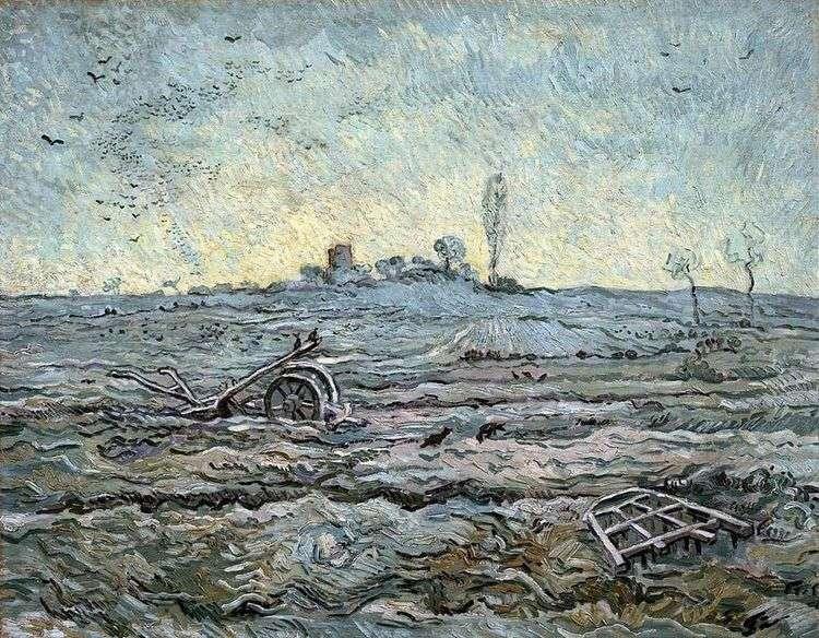 Плуг и борона (по Милле)   Винсент Ван Гог