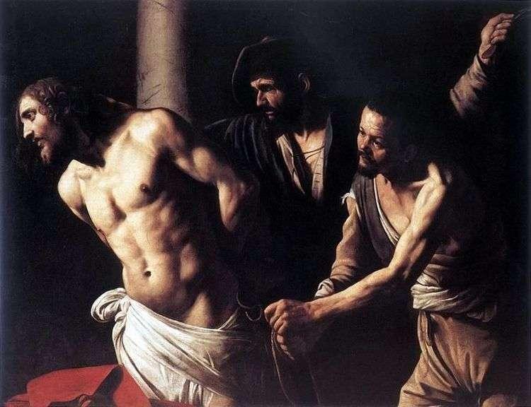 Христос у колонны   Микеланджело Меризи да Караваджо