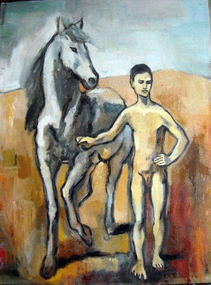 Мальчик   ведущий лошадь   Пабло Пикассо