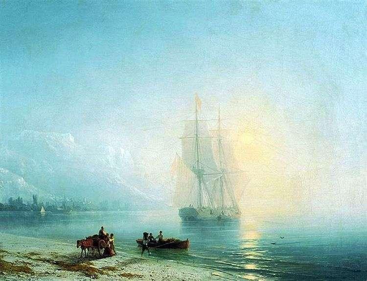 Спокойное море   Иван Айвазовский