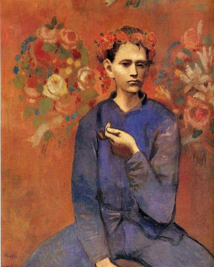 Мальчик с трубкой   Пабло Пикассо