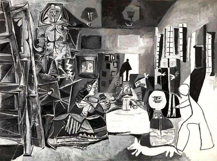 Менины по Веласкесу   Пабло Пикассо