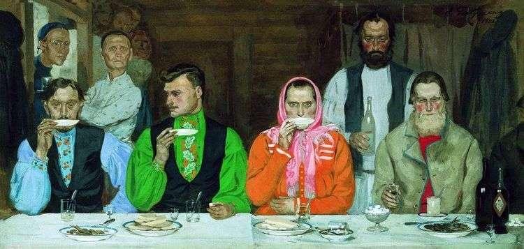 Чаепитие   Андрей Рябушкин