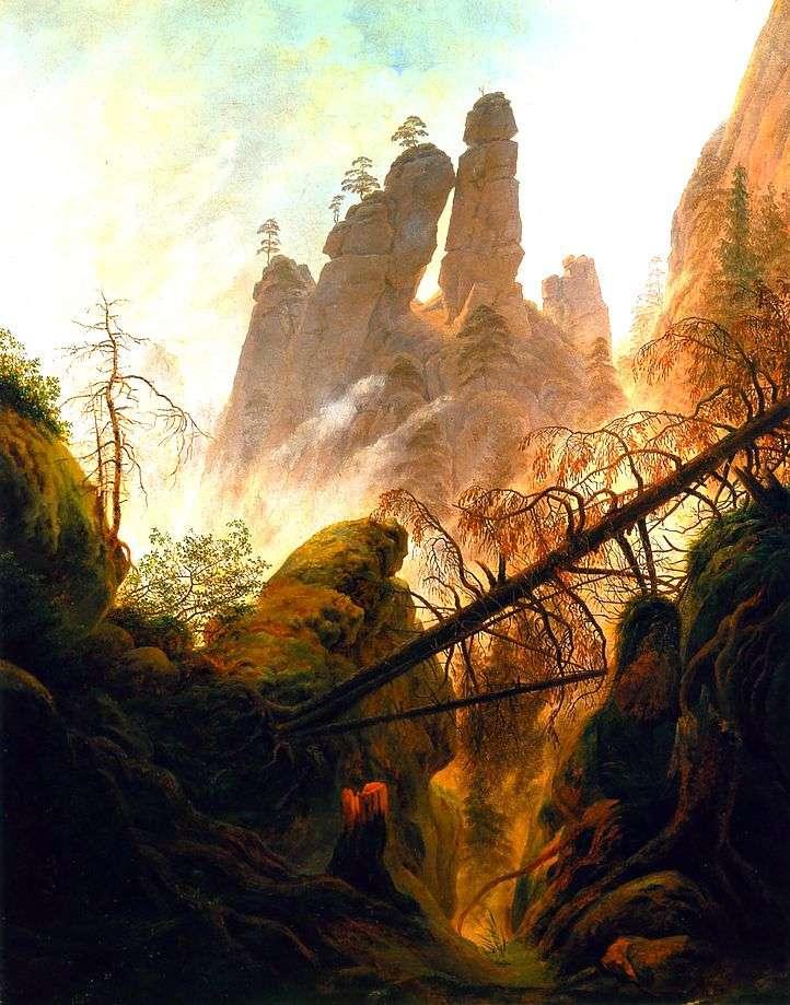 Ущелье   Каспар Давид Фридрих