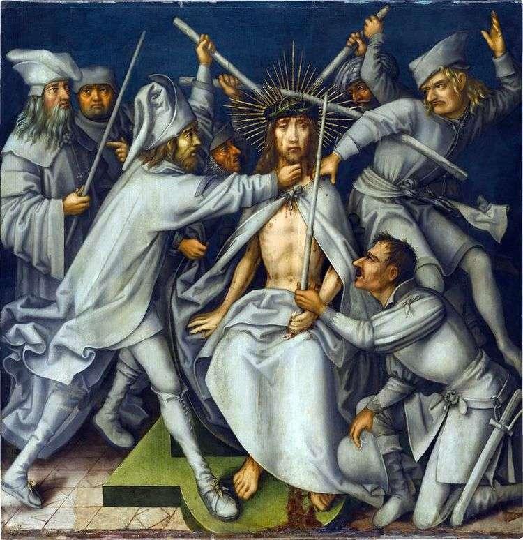 Поругание Христа   Ганс Гольбейн