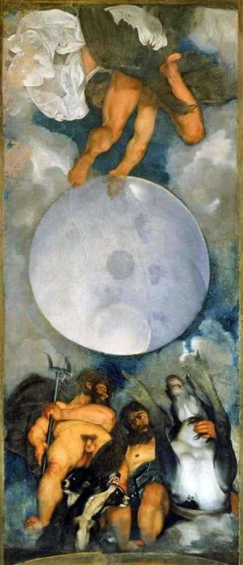 Юпитер, Нептун и Плутон   Микеланджело Меризи да Караваджо