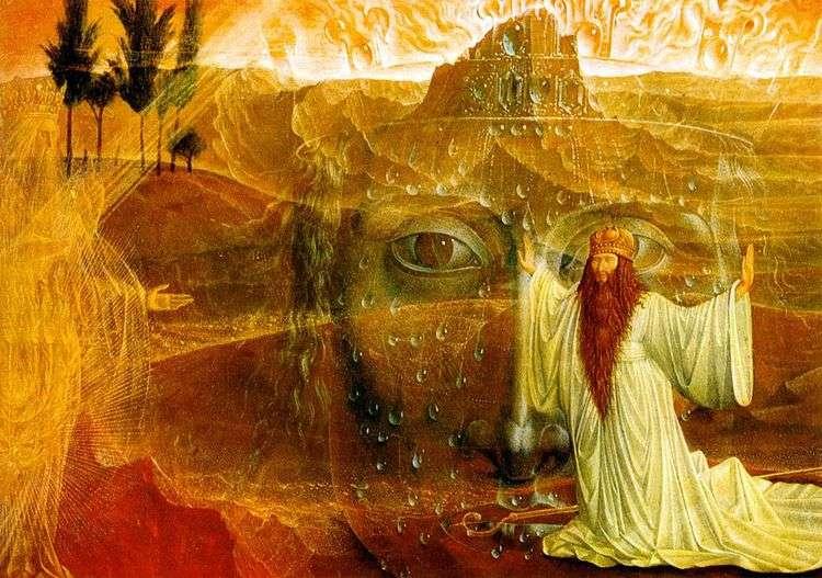 Моисей и Неопалимая купина   Эрнст Фукс