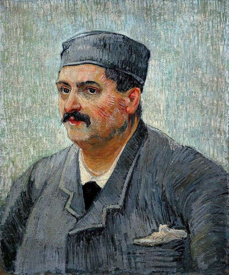 Портрет владелец ресторана   Винсент Ван Гог