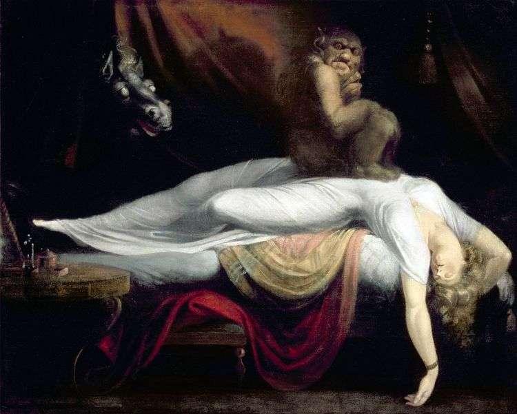 Ночной кошмар   Иоганн Генрих Фюссли