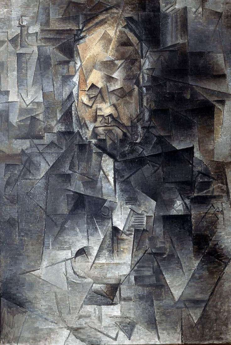 Портрет Амбруаза Воллара   Пабло Пикассо