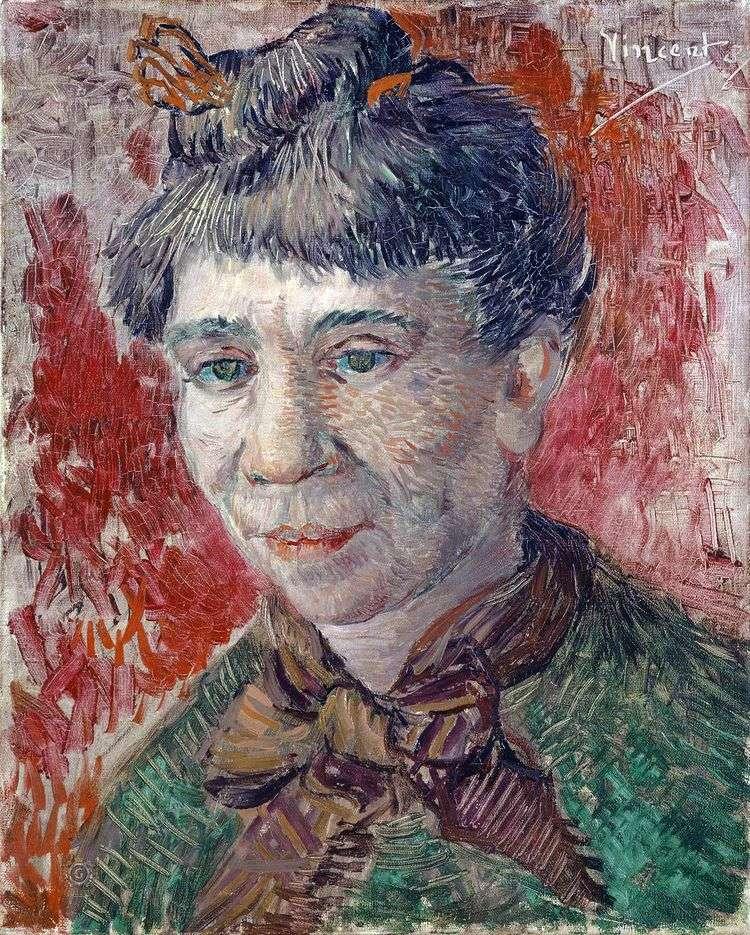 Портрет женщины   Винсент Ван Гог
