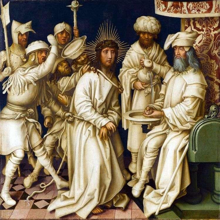 Христос перед Пилатом   Ганс Гольбейн