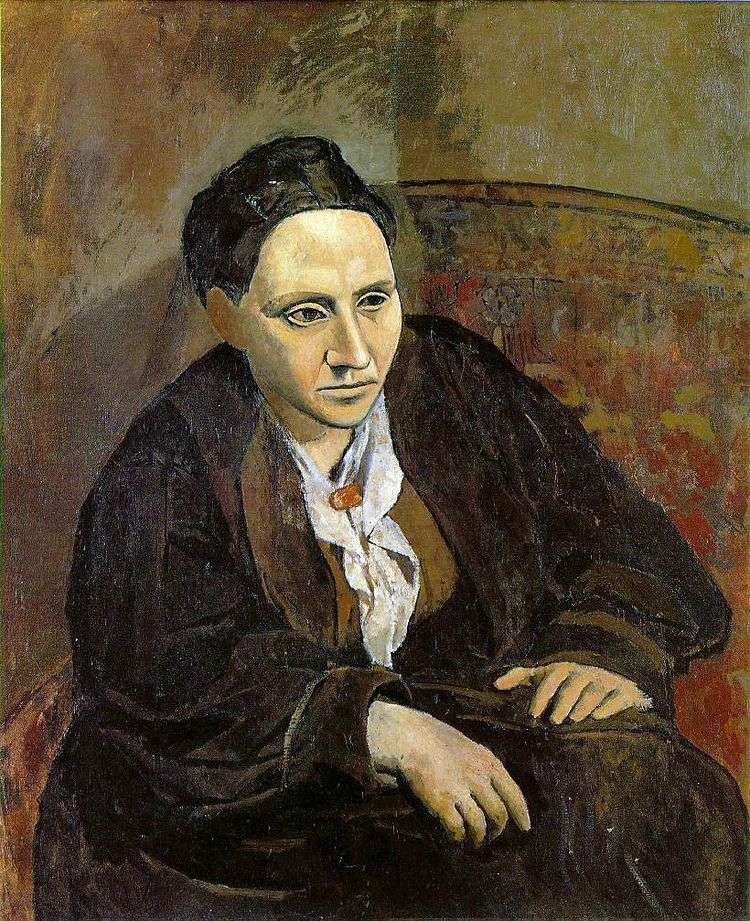 Портрет Гертруды Стайн   Пабло Пикассо