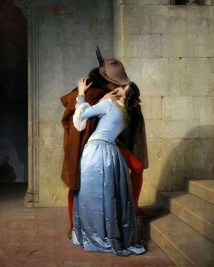 Поцелуй   Франческо Айец