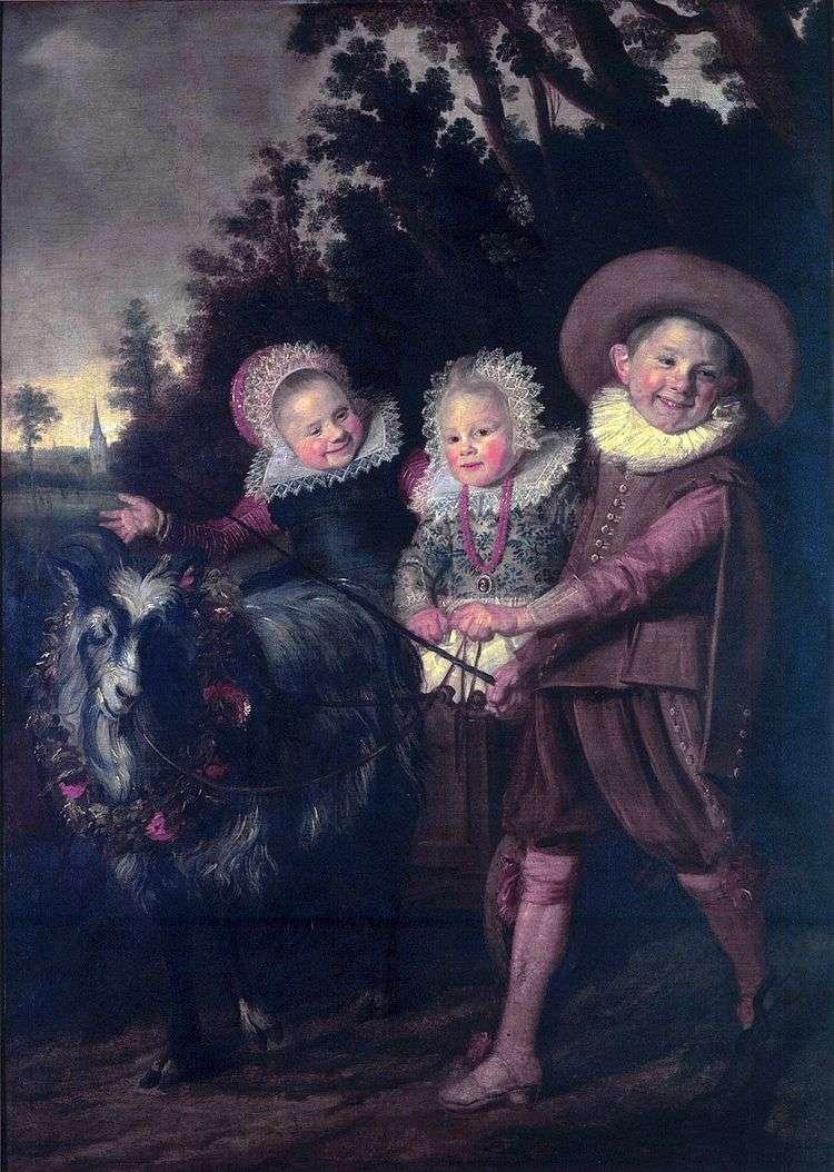 Группа детей   Франс Халс