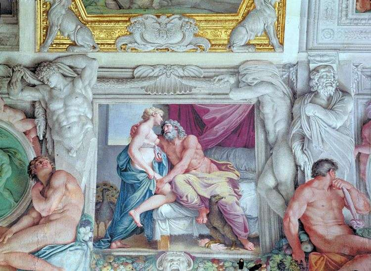 Юпитер и Юнона   Аннибале Карраччи