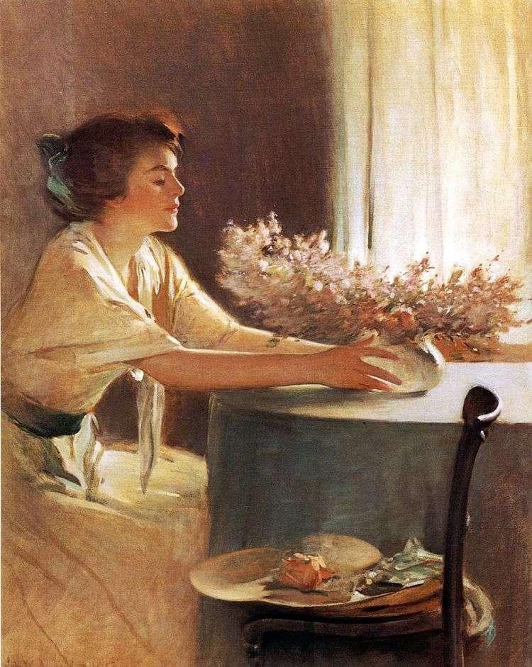 Цветы луга   Джон Уайт Александер