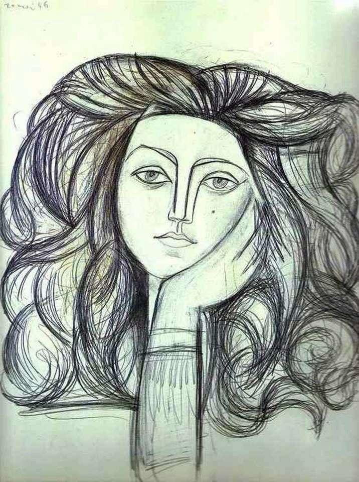 Портрет Франсуазы   Пабло Пикассо