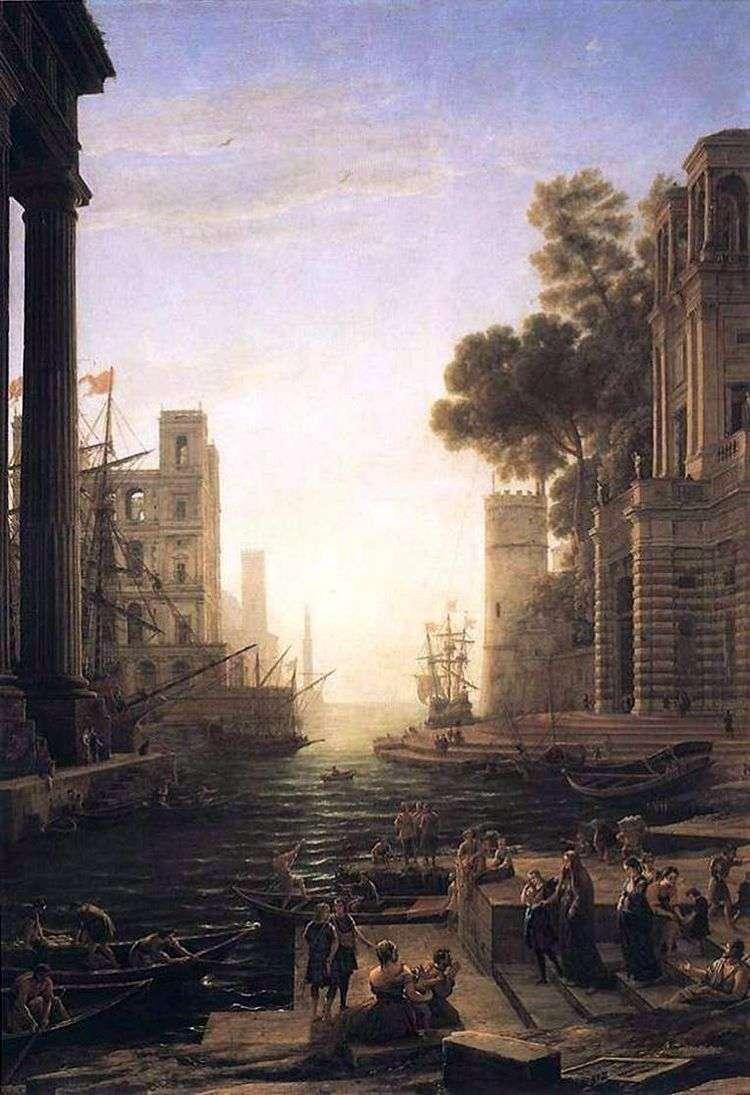Отплытие Святой Паулы   Клод Лоррен