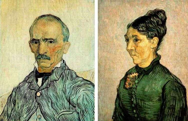 Портреты четы Трабук   Винсен Ван Гог