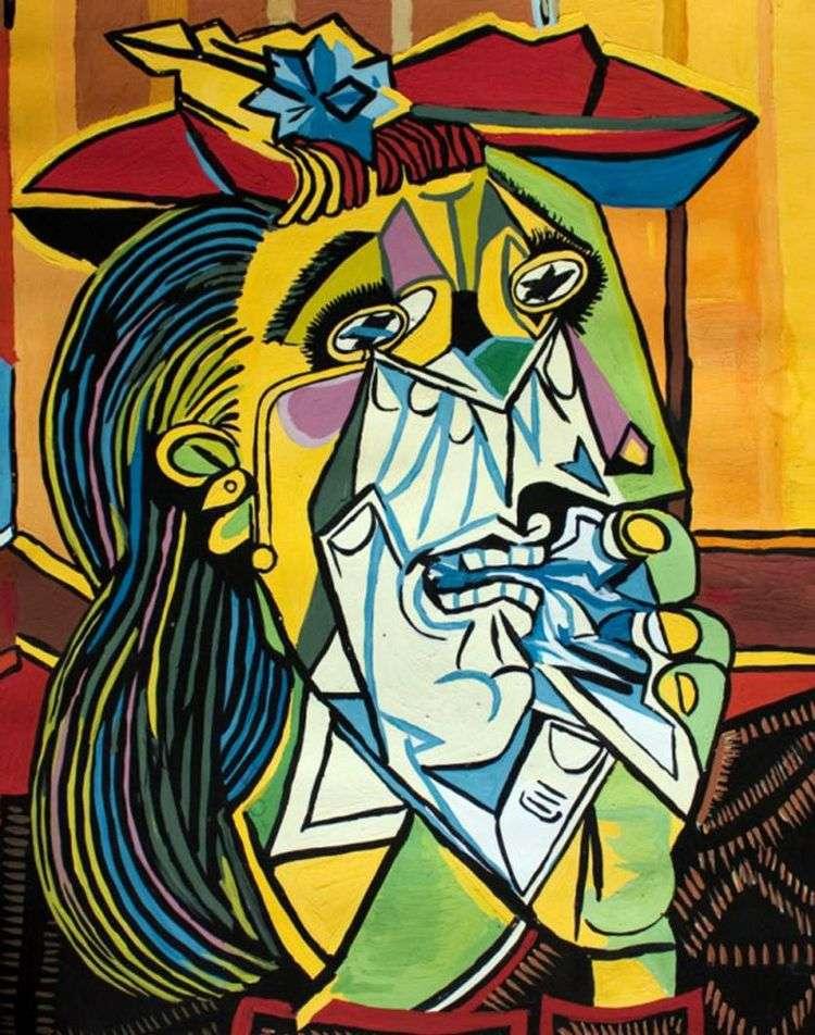 Рыдающая женщина   Пабло Пикассо