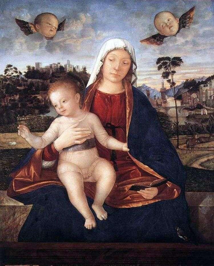 Мадонна с Младенцем   Витторе Карпаччо