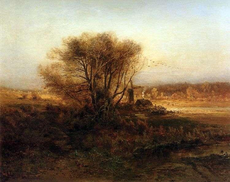Осень   Саврасов