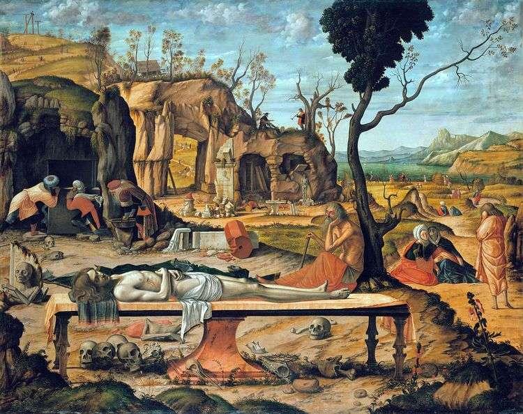 Мертвый Христос   Витторе Карпаччо