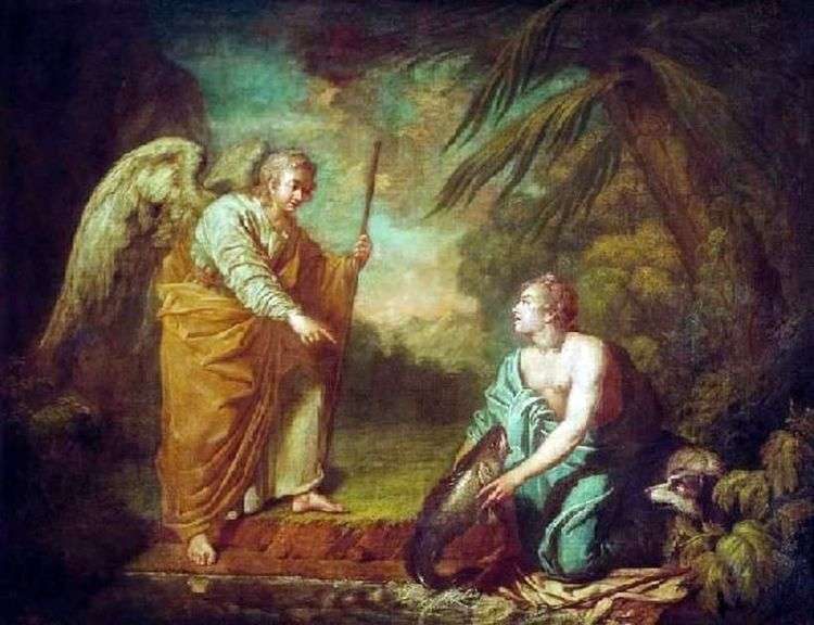 Товий с ангелом   Антон Лосенко