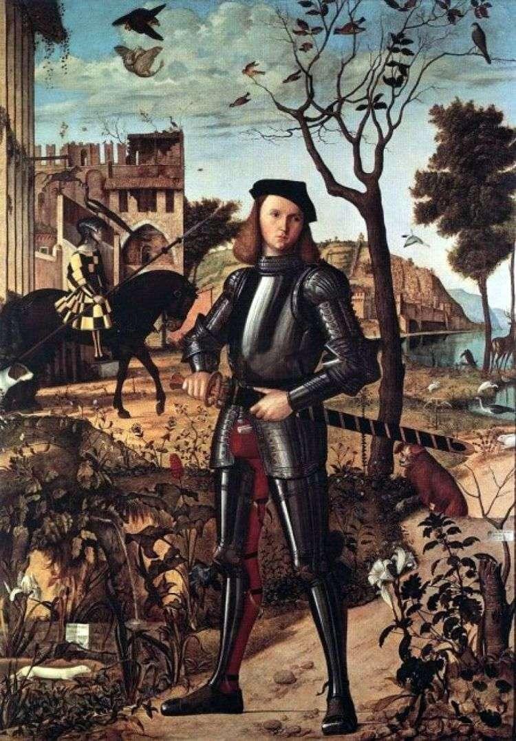 Молодой рыцарь   Витторе Карпаччо
