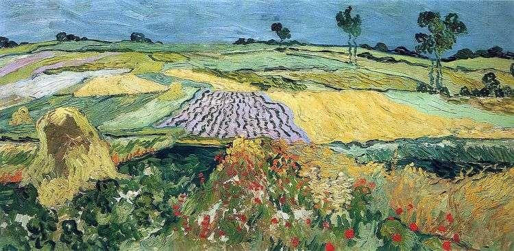 Пшеничные поля, равнина Овер   Винсент Ван Гог