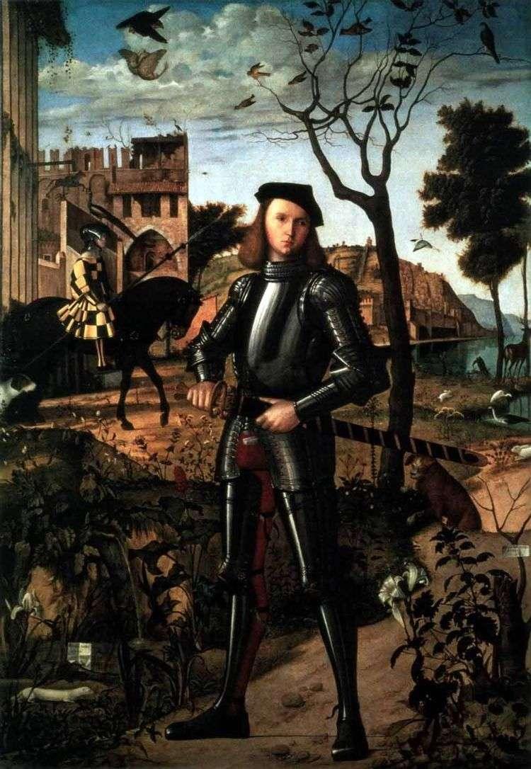 Портрет рыцаря   Витторио Карпаччо