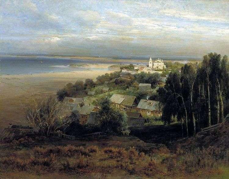 Печерский монастырь под Нижним Новгородом   Алексей Саврасов