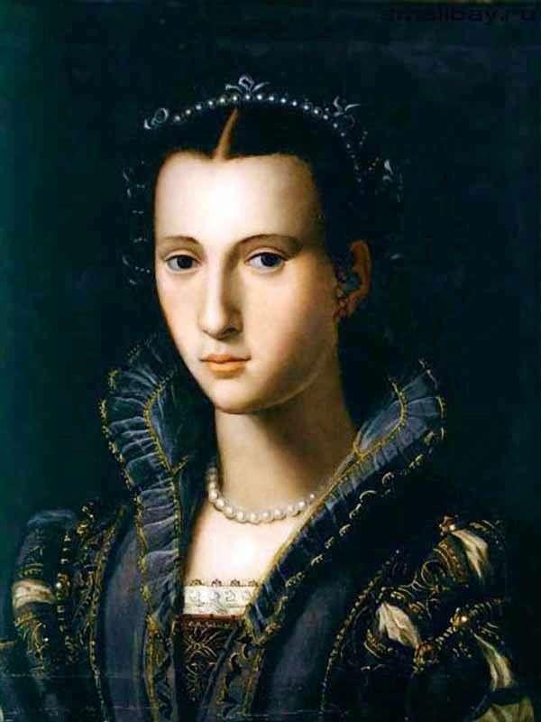 Портрет флорентийской дамы   Алессандро Аллори