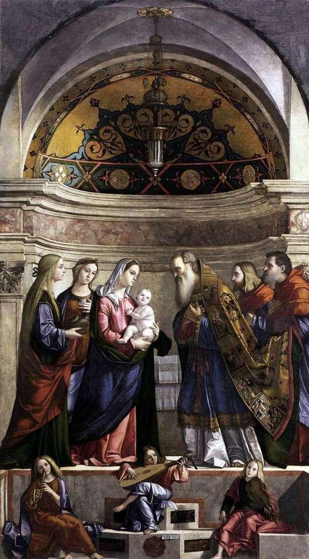 Принесение во храм   Витторио Карпаччо