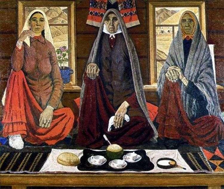 Три женщины   Ахмат Лутфуллин