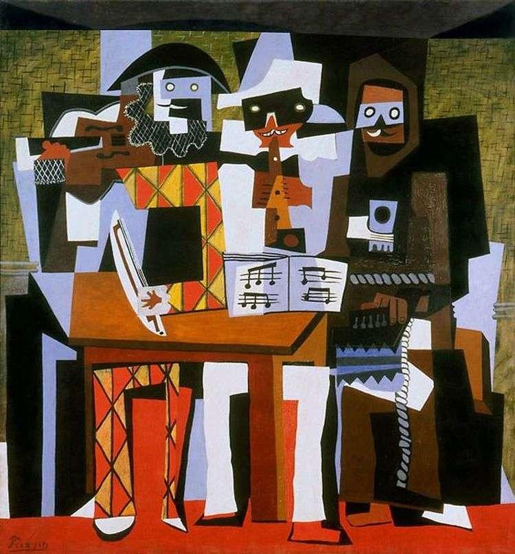 Три музыканта   Пабло Пикассо