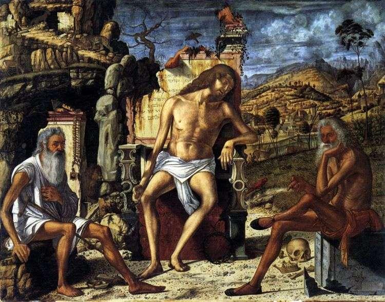Размышления о Страстях Христовых   Витторе Карпаччо