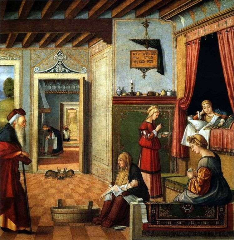 Рождение Девы Марии   Витторе Карпаччо