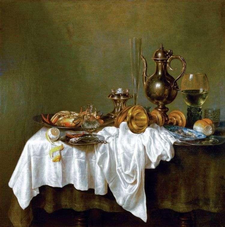 Завтрак с крабом   Биллем Клас Хеда