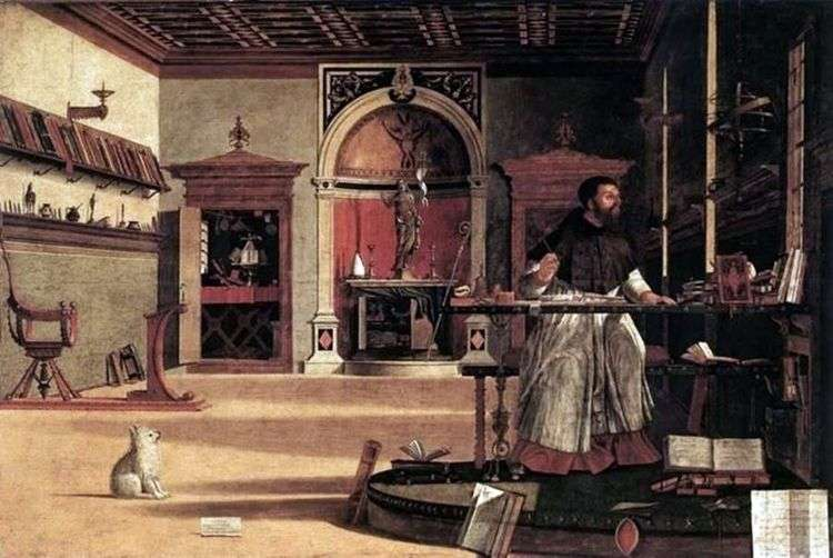 Святой Августин   Витторе Карпаччо