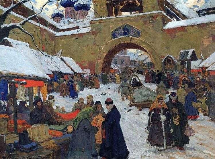 Базарный день в старом городе   Иван Горюшкин Сорокопудов