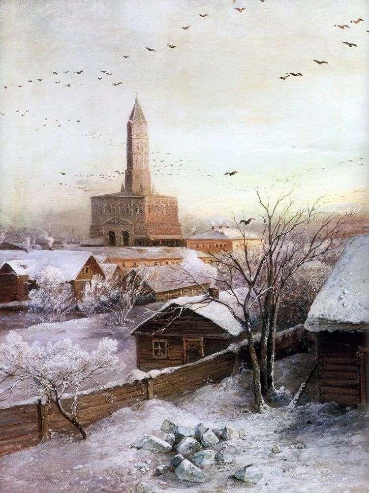 Сухарева башня в Москве   Алексей Саврасов