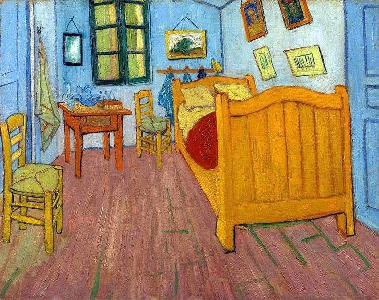 Спальня Винсента в Арле (Спальня Ван Гога)   Винсент Ван Гог
